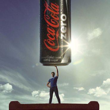 Product Photography Coke zero